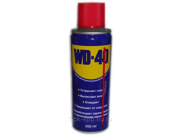 WD40 (200 ml) facility for thousands of applications (liquid key) цена