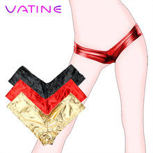 VATINE T Pants Thongs Gilded Sexy Underwear Low Waist Hip Sexy Lingerie Erotic Toys Sex Toys for Women Sex Shop(China)