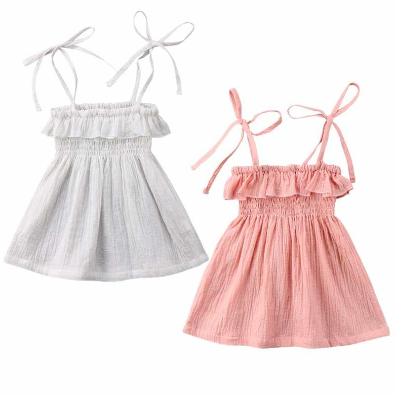 6f3b571323 Toddler Infant Kids Baby Girls Summer Bathing Suit Bikini Beach Cover Ups  Dress Princess Party Wedding