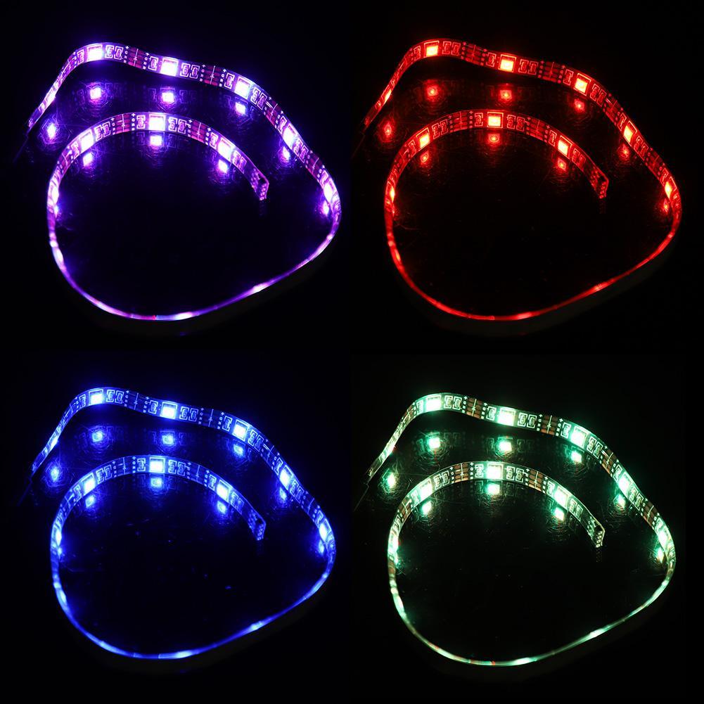 USB LED Strip lamp 6W 12V RGB Colorful 36 Light Bar Flexible Tape Lamp SMD