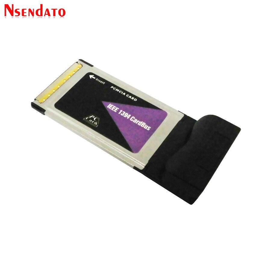 3 Порты и разъёмы 6 Pin IEEE 1394 CardBus PCMCIA для цифровой Камера DV видеокамеры жесткие диски, съемные диски для настольных ПК, ноутбуков,