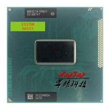 Intel Pentium 2020M 2020M SR0U1 SR0VN SR184 2.4 GHz Dual Core כפול חוט מעבד מעבד 2M 35W שקע G2 / rPGA988B