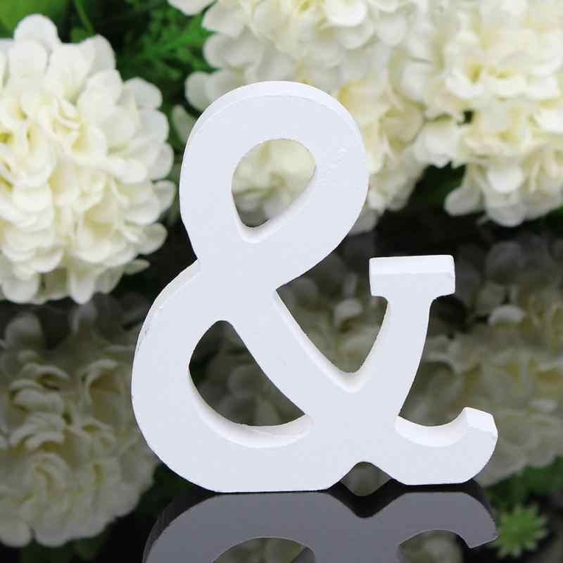 Абсолютно новый хит продаж креативные буквы алфавит слово Свадебные украшения для дома для рождественского фестиваля