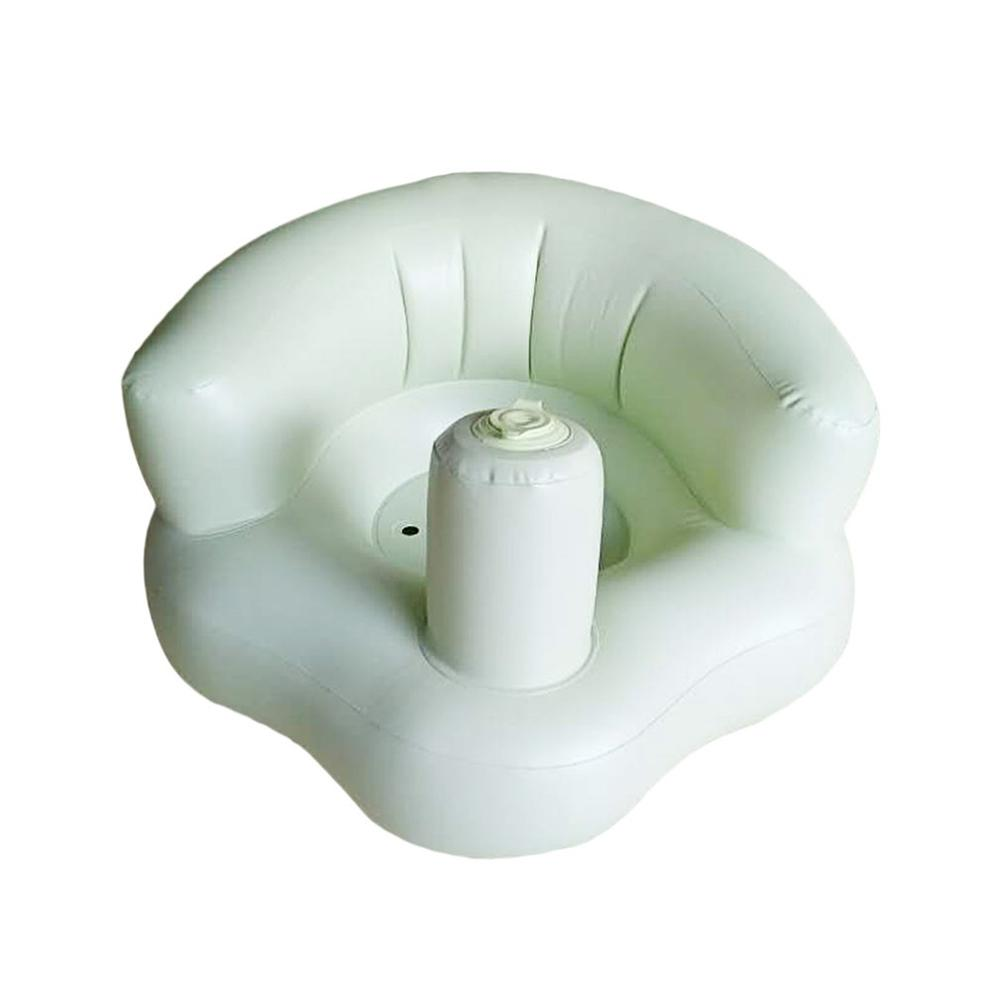NEW ARRIVAL Inflatable Baby Shower Air Seat Baby Bath Pad For Babies To Learn Seat Safety Security Bath Seat Two Color
