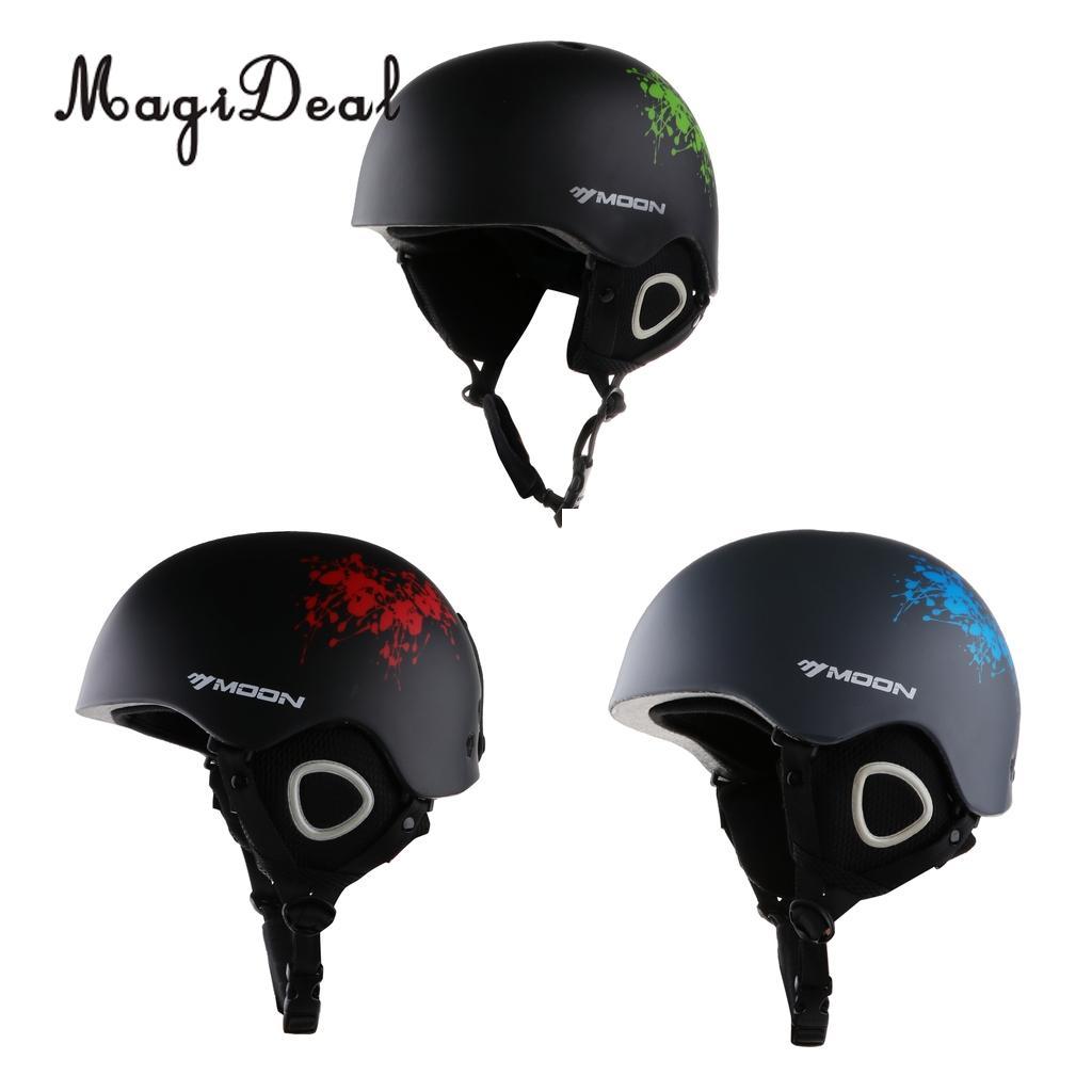 Warm Beautiful Magideal Unisex Men Women Ski/snowboard Helmet Lightweight Impact Resistant Ce Certification Adjustable Breathable