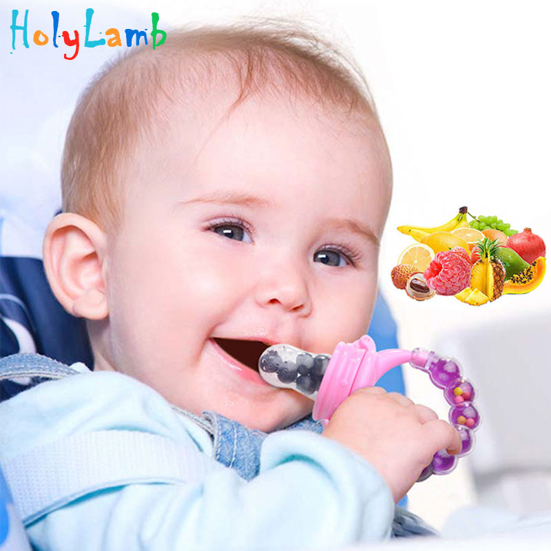New Bottle Feeding Nipple Feeder Fresh Food Milk Nibbler Food Feeding Tool Safe Baby Bottles