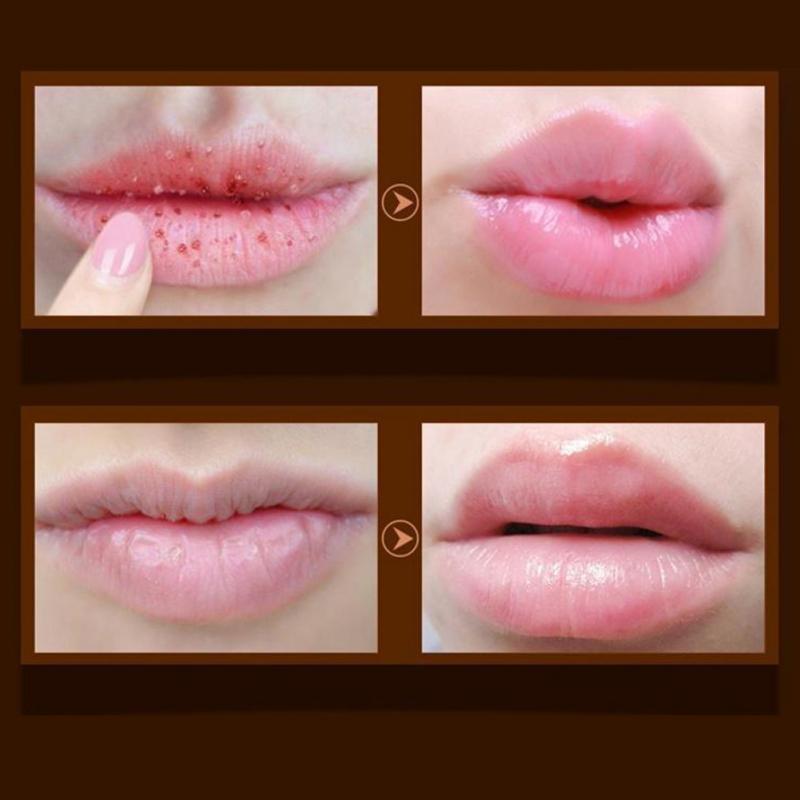 Women Lip Balm Lip Exfoliating Scrub Anti Ageing Wrinkle Lipstick Ladies Makeup Tools #5 4