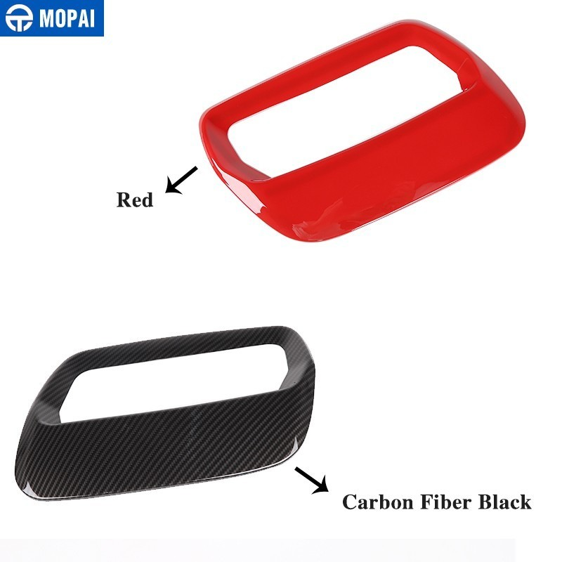 Image 5 - MOPAI Car Stickers for Ford Mustang 2018+ Carbon fiber Hood Engine Cover Air Outlet Decoration for Ford Mustang Car Accessories-in Car Stickers from Automobiles & Motorcycles