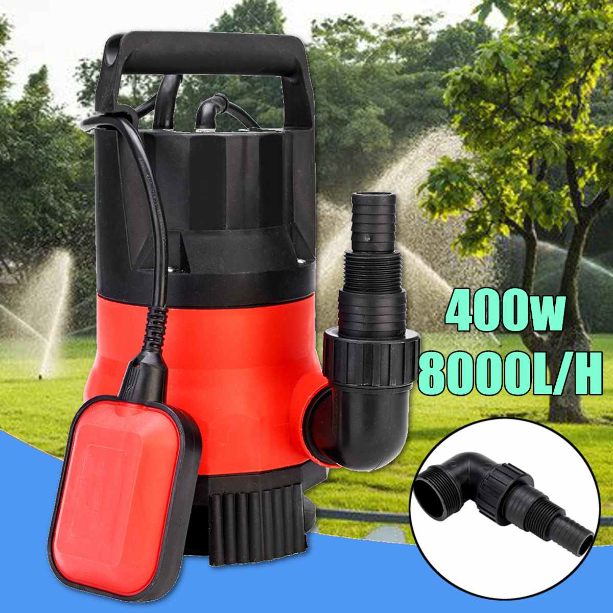 400W Electric Submersible Pump Garden Pond Dirty Flood Water Cleaning Tools Pool Drainage Irrigation Aquaculture Pumps Parts400W Electric Submersible Pump Garden Pond Dirty Flood Water Cleaning Tools Pool Drainage Irrigation Aquaculture Pumps Parts