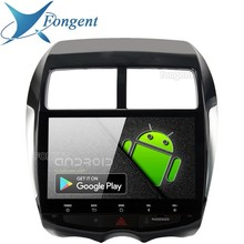 """Android 9.0 Octa Core 64 GB PX6 GPS Multimedia Radio Player 10.2 """"HD IPS Dello Schermo di trasporto per Mitsubishi ASX 2010 2011 2012 2013 2014 2015"""