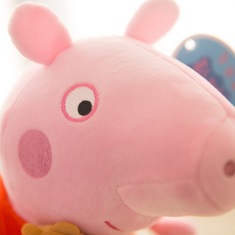 Cute 20/30/40/50cm Peppa pig George Family Plush Toy Stuffed Doll Party Decorations Peppa pig Ornament Keychain Toys For Childre 5