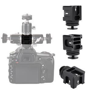 Top FS-04 Camera Rotating PT Four-head Multi-function Hot Shoe Bracket 2019 New