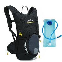 Waterproof MTB Bike Hydration Breathable 15L Backpack+2L Water Bags Large Capacity Bicycle Bags Cycling Knapsack Travel Packsack