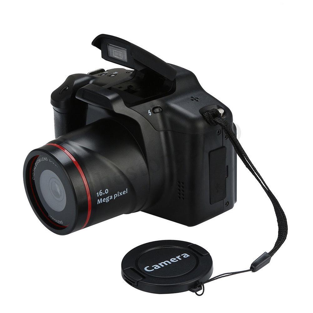 Tüketici Elektroniği'ten Tüketici Kameraları'de 16MP HD 1080P 2.4 inç TFT ekran Anti shake dijital SLR kamera dahili mikrofon title=