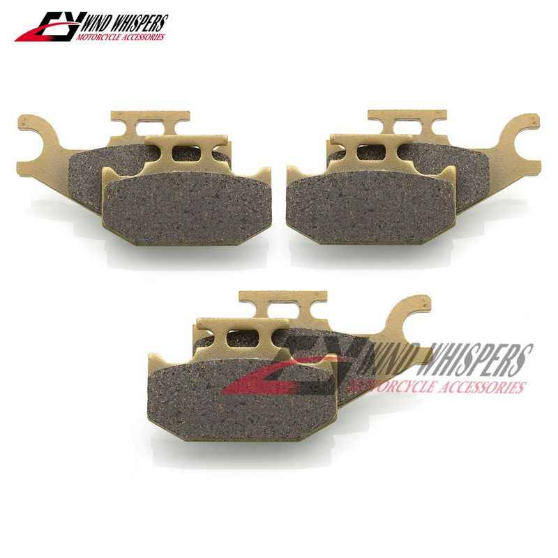 Front Brake Pads For Can Am Outlander 400 500 650 800 Renegade 500 800