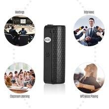 Q70 Mini WAV rejestrator audio pióro 8 GB aktywowane głosem dyktafon cyfrowy Mp3 odtwarzacz nie-zatrzymują się 20 godzin nagrywania spotkać się z