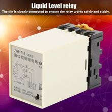 цена на JYB-714 Liquid Level Relay Water Level Controller with Base 220V Liquid Level Relay Controller