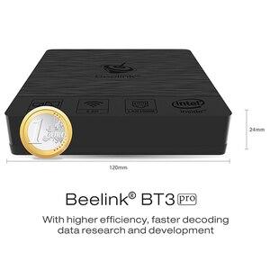 Image 4 - Beelink Bt3 Pro Ii 미니 Pc 인텔 아톰 X5 Z8350 2.4/5.8Ghz 듀얼 밴드 Wifi 블루투스 4.0 이더넷 1000Mbps 4Gb Ram 64Gb Rom 4 + 64