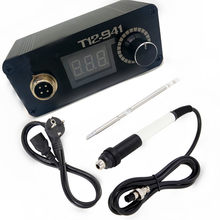 T12-941 Mini T12 LED Soldering Station Electronic Soldering Welding Iron with Handle & T12-K Solder Tip(China)