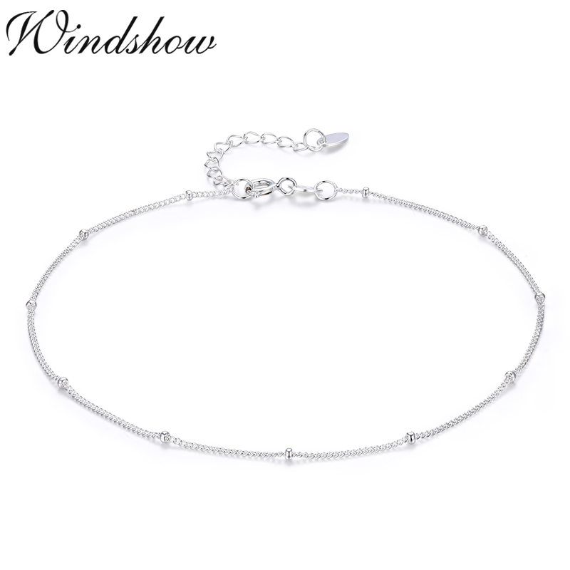 Slim Pure Real 925 Sterling Silver Thin