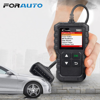 FORAUTO OBDII Code Reader Scan Tools CR3001 OBDII Car Diagnostic Tool PK AD310 ELM327 OM123 Scanner X431 Creader 3001