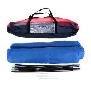 Image 5 - Lixada namiot kempingowy podróż dla 2 osób namiot na zimowe namioty wędkarskie odkryty Camping piesze wycieczki z torba do przenoszenia 200x140x110cm