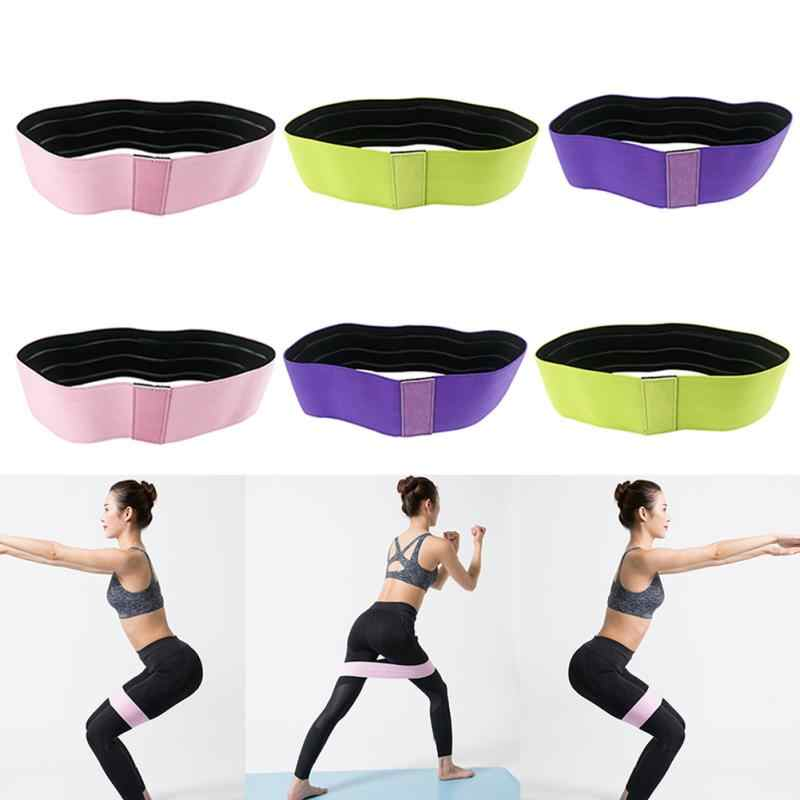 Fitness Equipments Unisex Durable Workout Yoga Resistance Band Exercise Equipment Slip Elastic Hip Circle Fitness Squat Elastic Bands For Fitness Sports & Entertainment