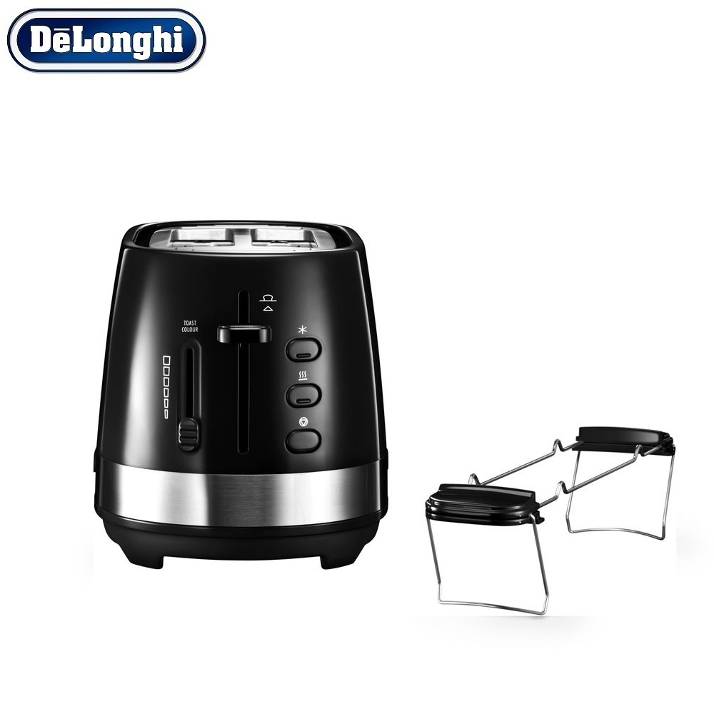 лучшая цена Toasters Delonghi CTLA 2103.BK home kitchen appliances cooking toaster fry bread to make toasts