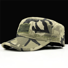 Hat Military-Caps Air-Force Army Caps-Hat New Five Uu. Pointed-Star Ee. U-S Camoubyera