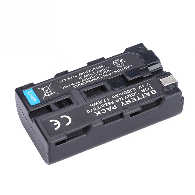 NP-F550NP-F570 7.4V 200mAh Camera Camcorder Full Decoded Battery for Sony