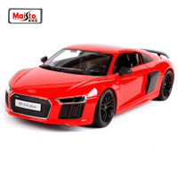 Maisto 1:18 Audi R8 V10 PLUS Sports Car Diecast Model Car Toy New In Box Free Shipping NEW ARRIVAL SLS AMG GT 36196 36213 36204