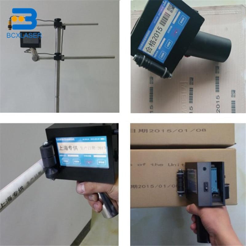 Steel Pipe Ink Jet Marking Machine Inkjet Hand Held Printer