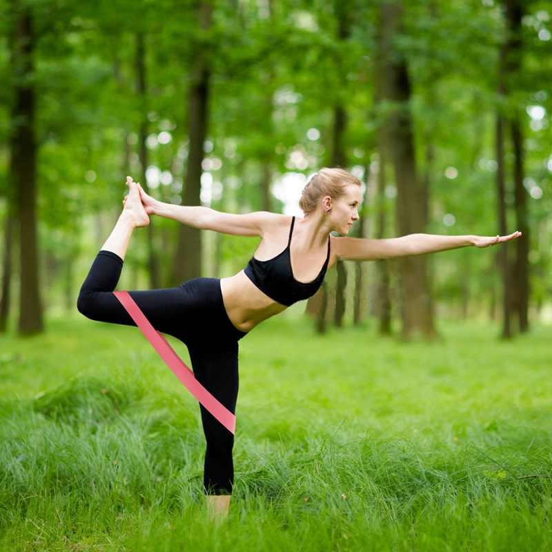 Tập Thể Hình Kẹo Cao Su Chống Ban Nhạc Vòng Bộ Thun Cho Thể Dục Đào Tạo Kéo Dây Cao Su Thể Thao Yoga Tập Gym Equipmen