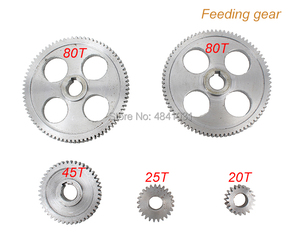 Image 5 - 21 adet mini torna dişliler/CJ0618 346B Metal kesme makinesi dişliler/Metal dişli seti (metrik)