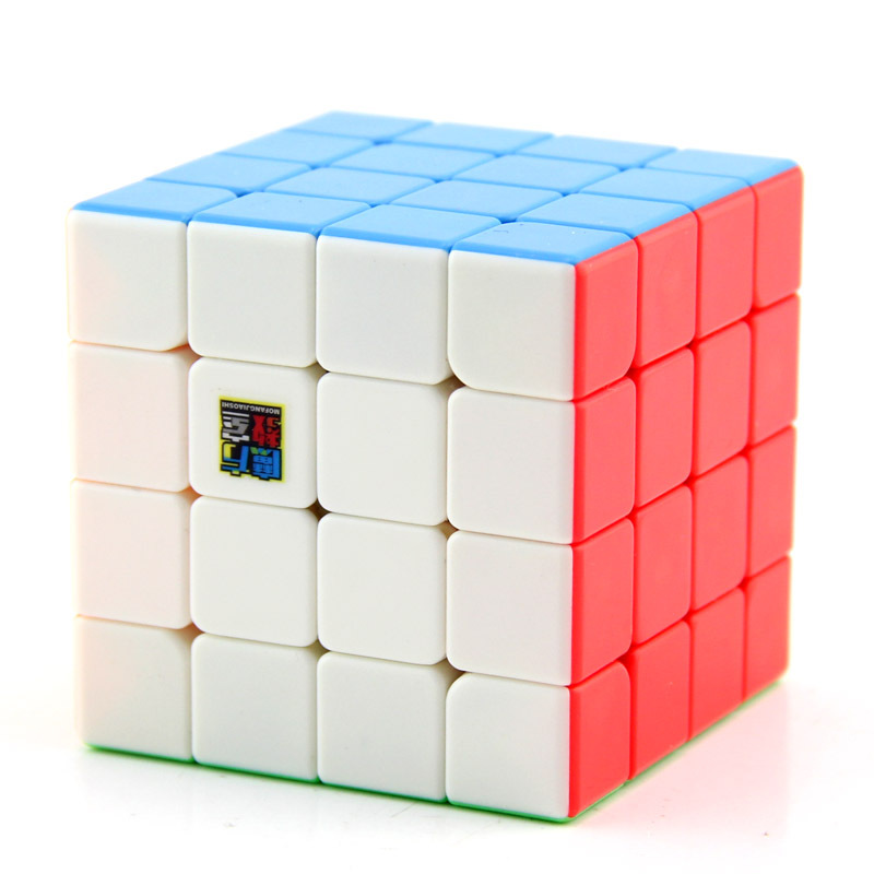 MoYu Mofangjiaoshi MF4 4x4 Stickerless Red Version Cube Cubing Classroom Speed cubing 4x4x4 Magic Puzzle Toys For Kids