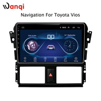 10.1inch Android 8.1 Car DVD GPS for Toyota vios 2014 2016 Navigation System Stereo Audio Radio Video Bluetooth