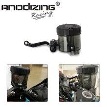 Универсальный мотоцикл передний тормоз сцепления Главный флакон жидкости главный цилиндр масло резервуар чашки для Honda Suzuki Kawasaki