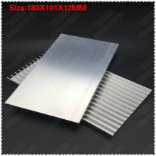 Heatsink 2PCS 183x101x12mm radiator Aluminum heatsink Extruded heat sink for LED Electronic dissipation cooling cooler