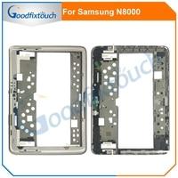 Middle Frame For Samsung Note 10.1 N8000 Middle Frame Housing Bezel Front Holder with side button For Samsung N8000 Mid Frame