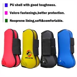Frete grátis cavalo neoprene tendão botas, escudo do plutônio. cavalo jumping proteção par, frente botas 1 par (ac70231)
