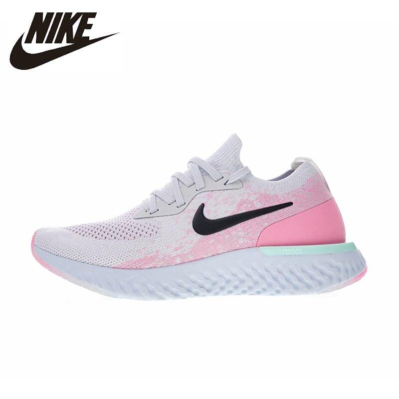 Nike EPIC réagir FLYKNIT nouveauté originale authentique chaussures de course pour femmes respirant Sport de plein air baskets AQ0070