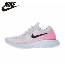 купить Nike EPIC REACT FLYKNIT Original New Arrival Authentic Women's Running Shoes Breathable Sport Outdoor Sneakers AQ0070 дешево