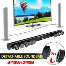 9662721567db18 50 W Staccabile Senza Fili di bluetooth Soundbar Altoparlante Stereo di  Sostegno USB Ottico HDMI RCA Subwoofer per la TV Home Th..
