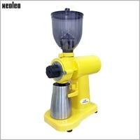XEOLEO Италия кофе шлифовальные станки 150 Вт Электрический желтый/белый/черный лезвие кофемолка бытовой фрезерный станок 250 г