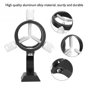 Image 2 - 1/4 Standard Camera Thread Hole Aluminum Alloy Adjustable Laser Pointer Finder Scope Bracket for Astronomical Telescope