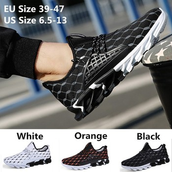 2018 Fashion New Men Boot Lace Up Comfor...