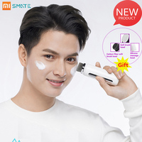 Xiaomi SMATE SF C62 Waterproof Brush Head Sonic Cleansing Instrument Cepillo Facial For Home With 3 Brush Heads