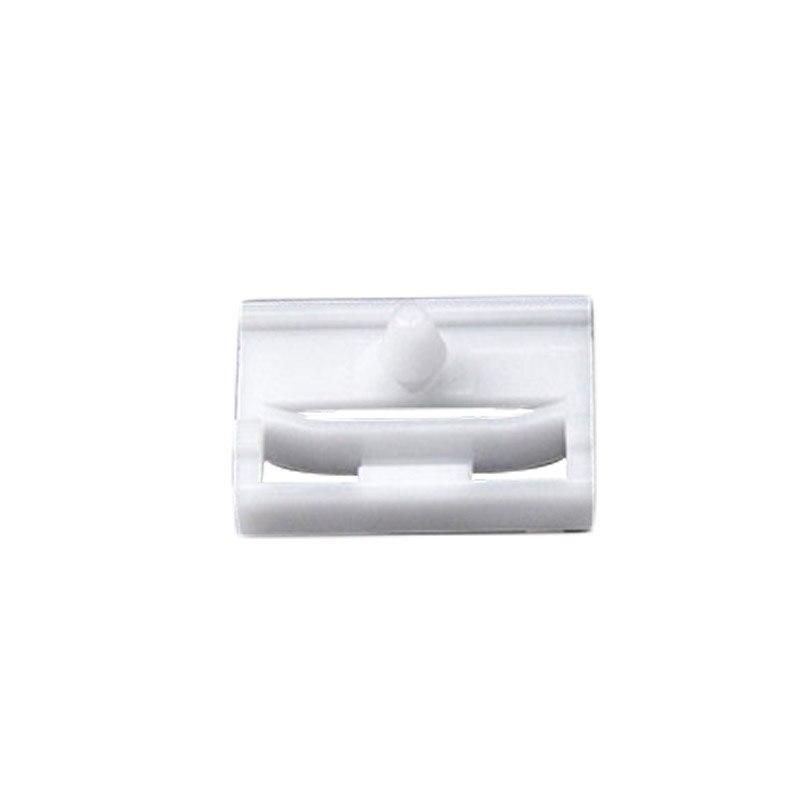 20 Exterior Side Sill Skirt Clip Fasteners Bracket For BMW E36 E46 E90 E91 White