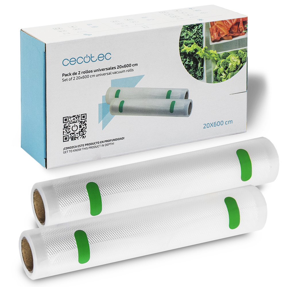 Cecotec Rolls Making Carrier Bags Out Emptiness Free BPA 20x600