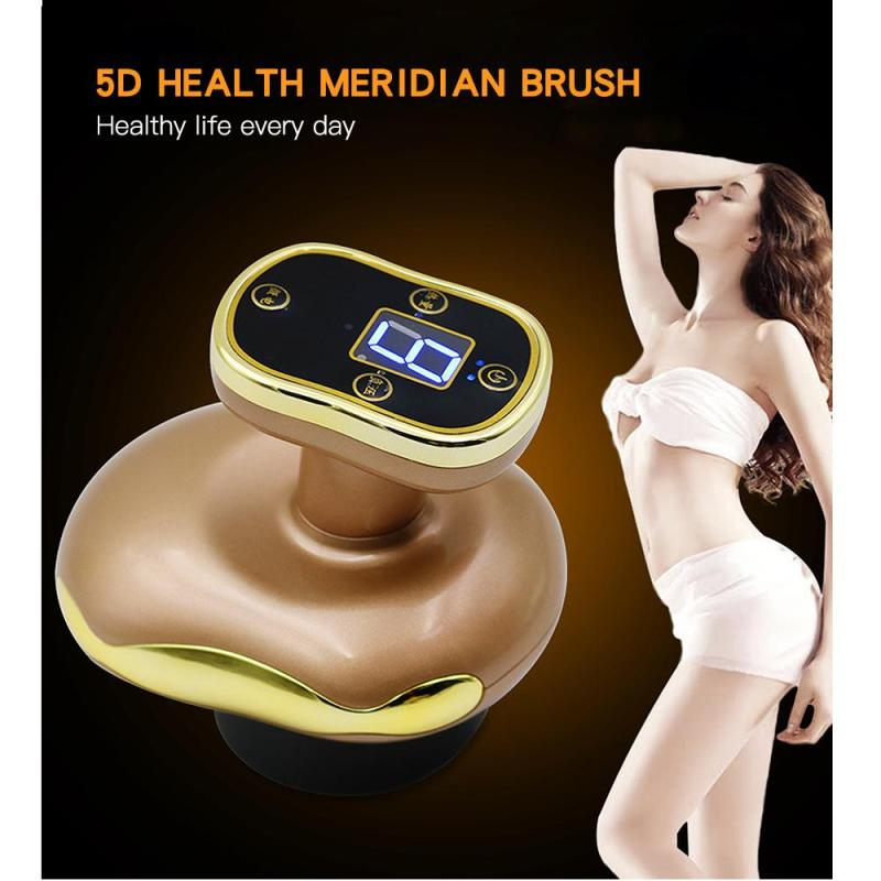 electric meridian brush massage brush stovepipe artifact meridian dredge instrument calf massage scraping instrument L3 цена